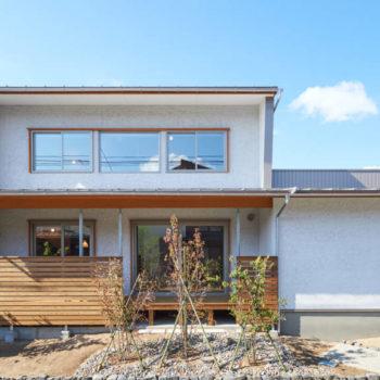 美善の家そとん壁の外観